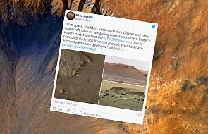 Na Marsie istniała woda. Potwierdzili to naukowcy