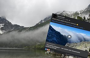 """""""Tatrzańska Niagara"""". Niezwykłe nagranie z polskich gór podbija internet"""