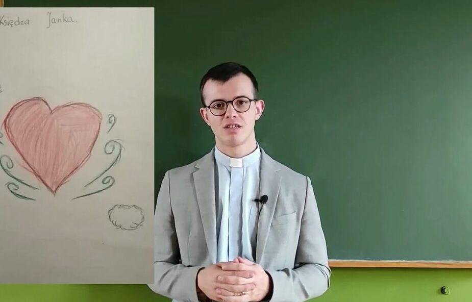 Młody jezuita w Dzień Nauczyciela o nauce w szkole Pana Jezusa…