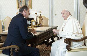 Papież Franciszek przyjął na audiencji premiera Francji