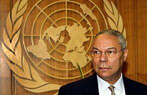 Nie żyje Colin Powell, były szef dyplomacji USA. Miał 84 lata