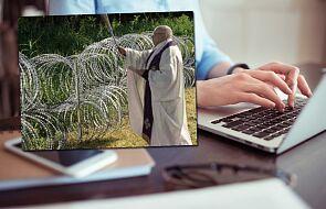 Na sieci krąży fałszywe zdjęcie księdza na granicy polsko-białoruskiej