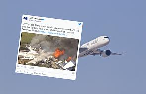 USA: rozbił się samolot z 21 osobami na pokładzie. Nikt nie zginął