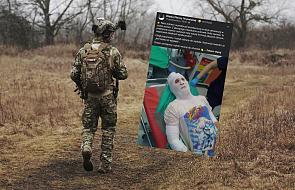 Żołnierz uratował dziewczynkę z płonącego mieszkania