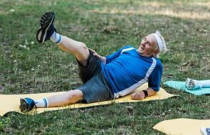 """80-latek uprawia sport po złamaniu kręgosłupa. """"Jest prawdziwym Ironmanem"""""""