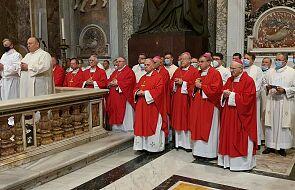 Polscy biskupi na audiencji u papieża Franciszka