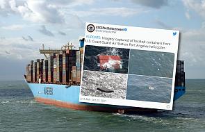 Ponad 100 kontenerów spadło z kanadyjskiego statku
