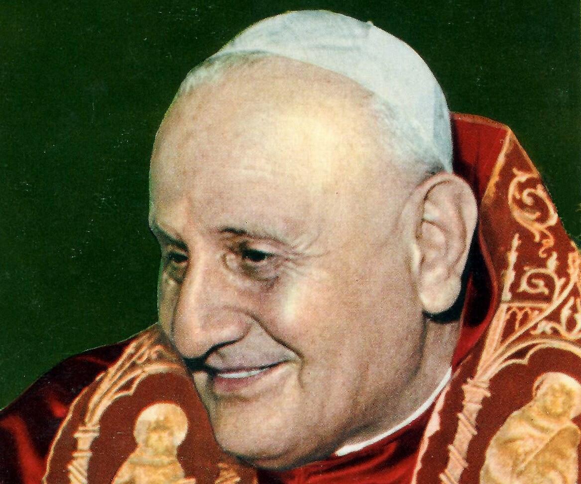 Św. Jan XXIII - Unknown author, Public domain, via Wikimedia Commons