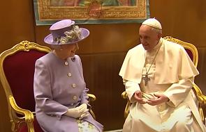 Papież Franciszek może spotkać się z królową Elżbietą II w Edynburgu