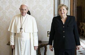 Kanclerz Angela Merkel z wizytą u papieża Franciszka