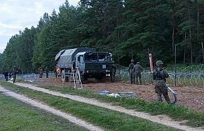 Straż Graniczna poinformowała o 524 próbach nielegalnego przekroczenia polsko-białoruskiej granicy