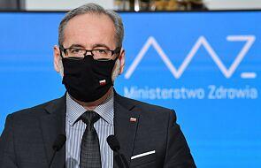 Minister zdrowia: wyniki zakażeń pokazują nowy trend