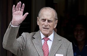 Mąż brytyjskiej królowej, książę Filip, został przyjęty do szpitala