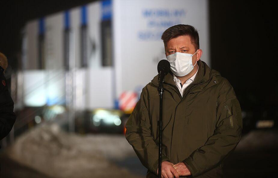 Dworczyk: do kwietnia 8 mln szczepionek dla Polski