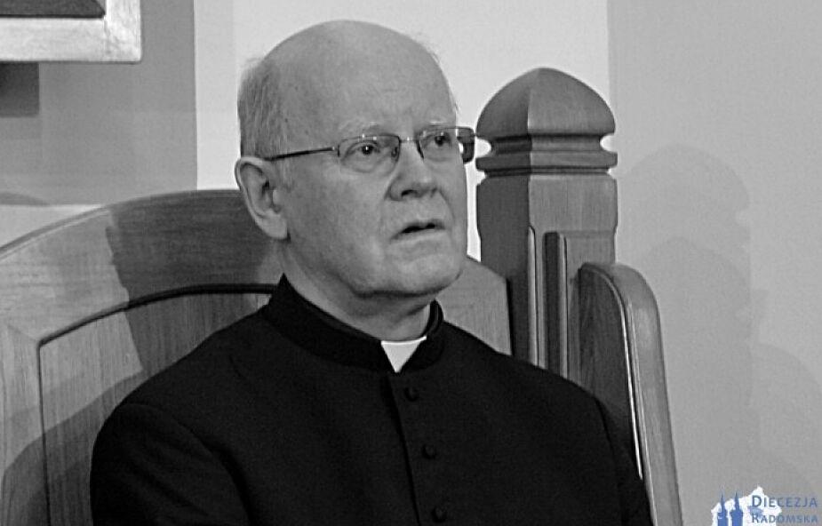 Zmarł kanclerz i rzecznik Kurii w Radomiu. Chorował na COVID-19