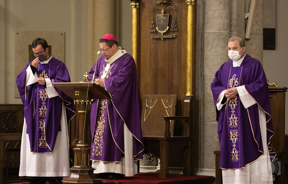 Abp Ryś do katechumenów: jesteś wybrany i posłany przez Boga