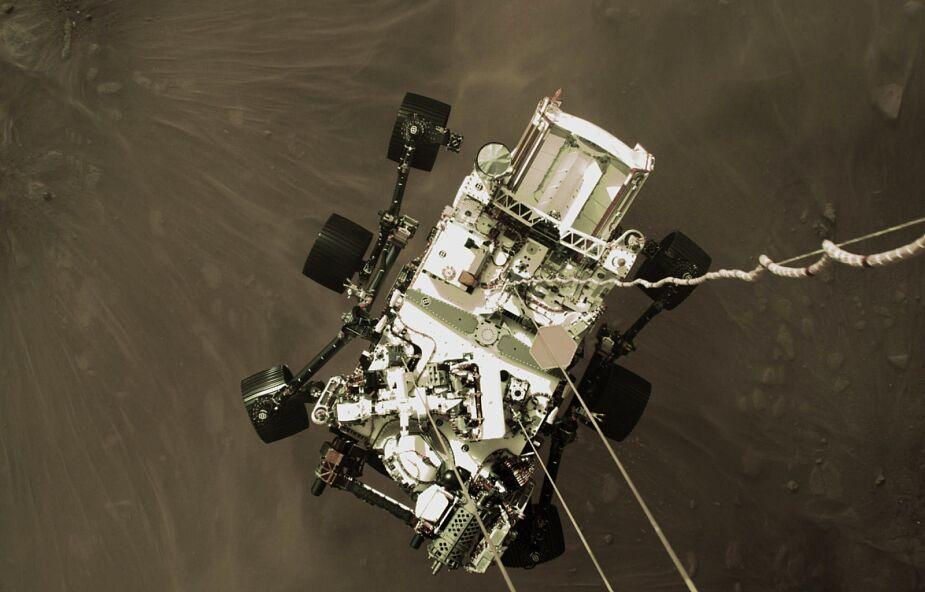 Perseverance wylądował. To nowy krok w kierunku lepszego rozumienia Marsa