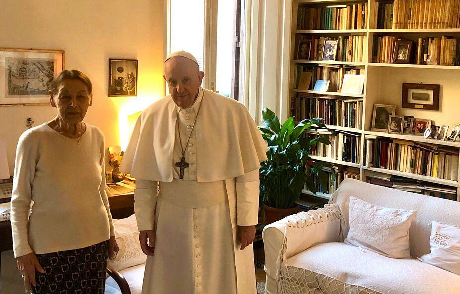 Rzym: papież odwiedził Żydówkę ocalałą z Holokaustu