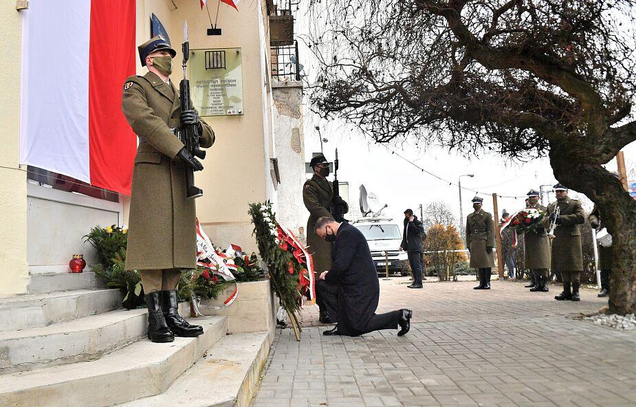 Andrzej Duda: Żołnierze Wyklęci odbierają dzisiaj zasłużoną chwałę