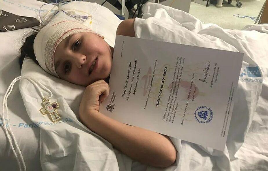 10-latka chora na raka mózgu tuż przed śmiercią spełniła swoje największe marzenie. Została misjonarką