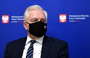 Wicepremier Jarosław Gowin zakażony koronawirusem