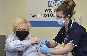 W. Brytania: premier Johnson zaszczepiony preparatem firmy AstraZeneca