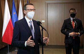 Morawiecki: szczepionka firmy AstraZeneca jest bezpieczna
