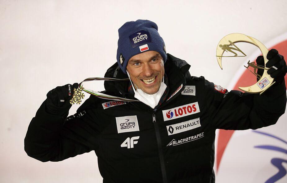"""Wczoraj Piotr Żyła odebrał złoty medal. """"Marzyłem o tym 8 lat temu"""""""