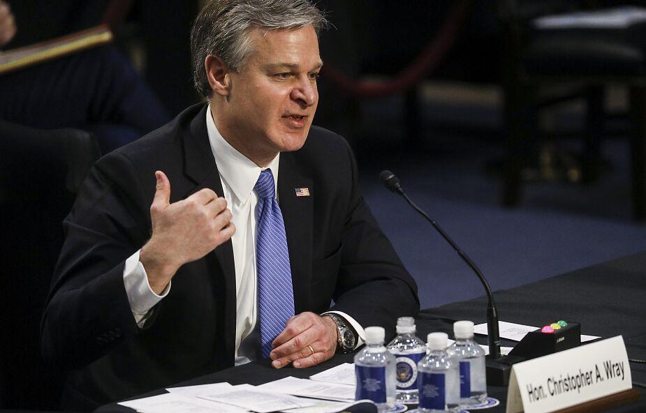 """Szef FBI: atak na Kapitol uznajemy za akt """"krajowego terroryzmu"""""""