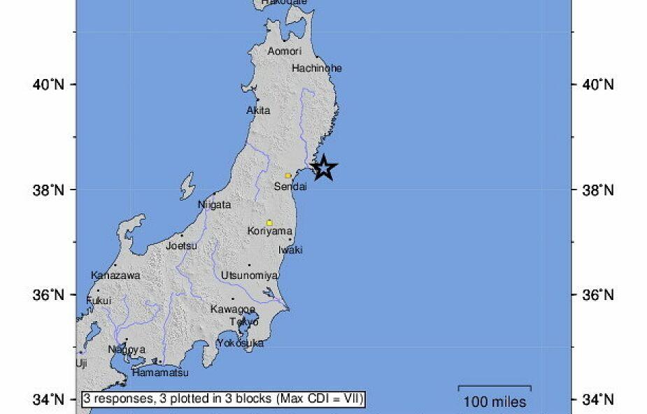 Silne trzęsienie ziemi w Japonii. Ostrzeżenia przed tsunami