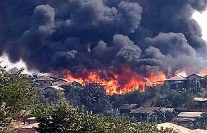 Pożar obozu dla uchodźców w Bangladeszu. Zginęły co najmniej trzy osoby