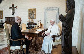 Papież gościł premiera Ukrainy