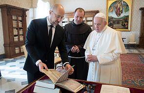 Premier Ukrainy zaprosił papieża Franciszka do swojego kraju