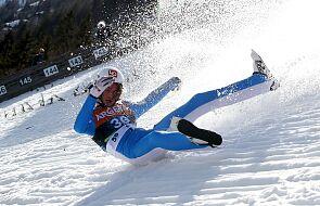 Skoki narciarskie. Koszmarny upadek Norwega