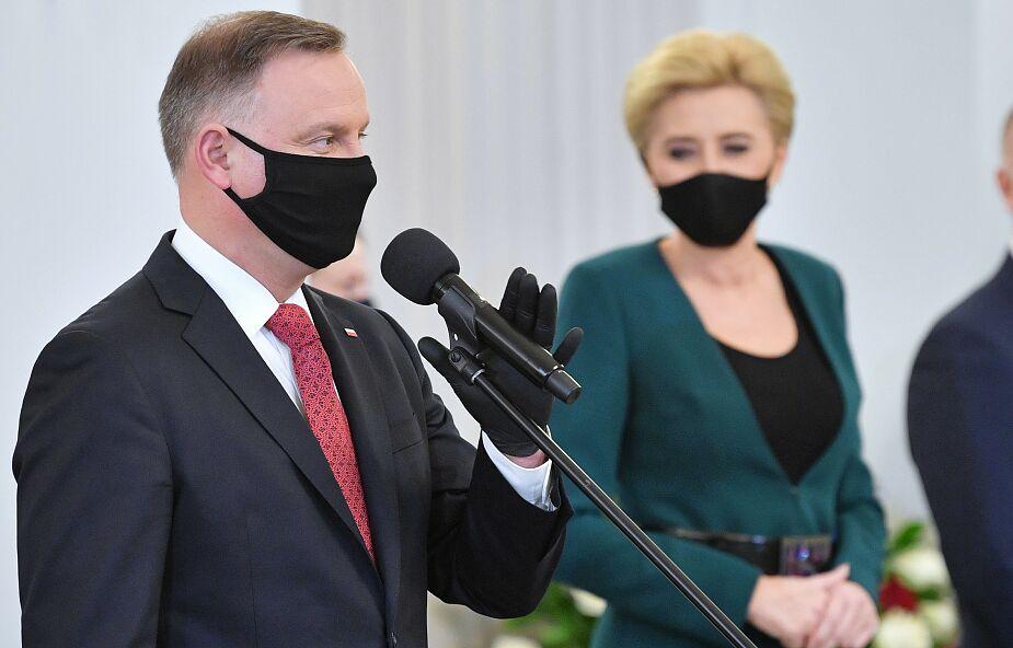 Prezydent o szczepionkach: zdecydowałbym się zaszczepić każdą, która jest w Polsce