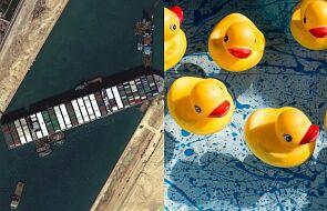 Tajemnica tysięcy gumowych kaczek. Kanał Sueski to nie pierwsza wpadka armatora