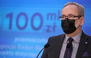 Niedzielski: trzecia fala się rozpędza, podjęto decyzję o uruchomieniu szpitali tymczasowych w 9 województwach