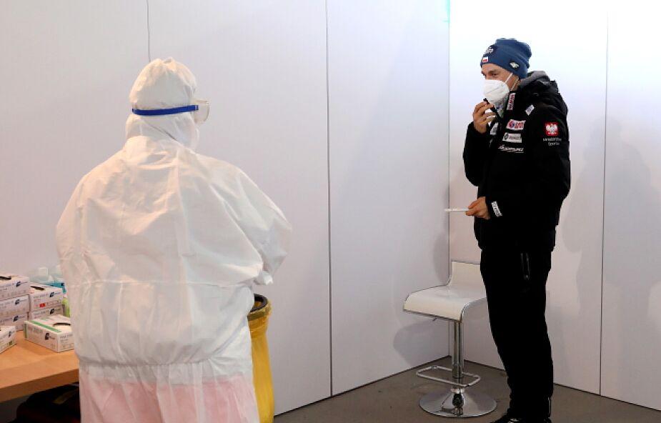 Polscy skoczkowie z negatywnymi wynikami na koronawirusa