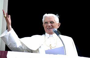 Papież Benedykt XVI odprawił mszę w Niedzielę Palmową