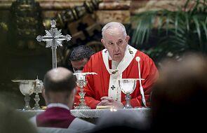 """Franciszek: """"ofiary wojen, dyktatur, przemocy i aborcji"""" to """"ukrzyżowani """" naszych czasów"""