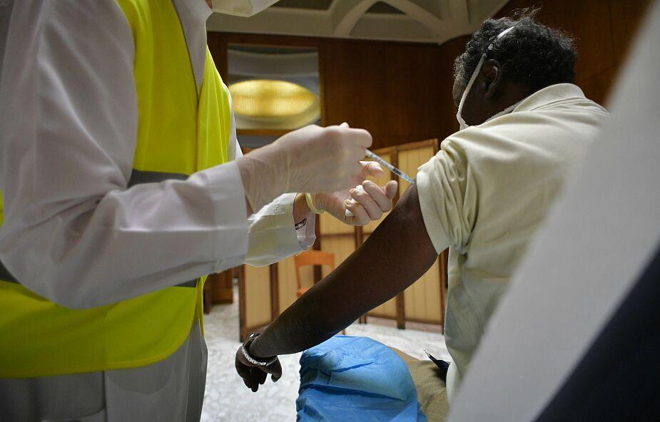 Watykan: zaszczepiono ubogich i bezdomnych