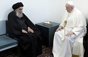 Papież Franciszek spotkał się z ajatollahem Al-Sistanim