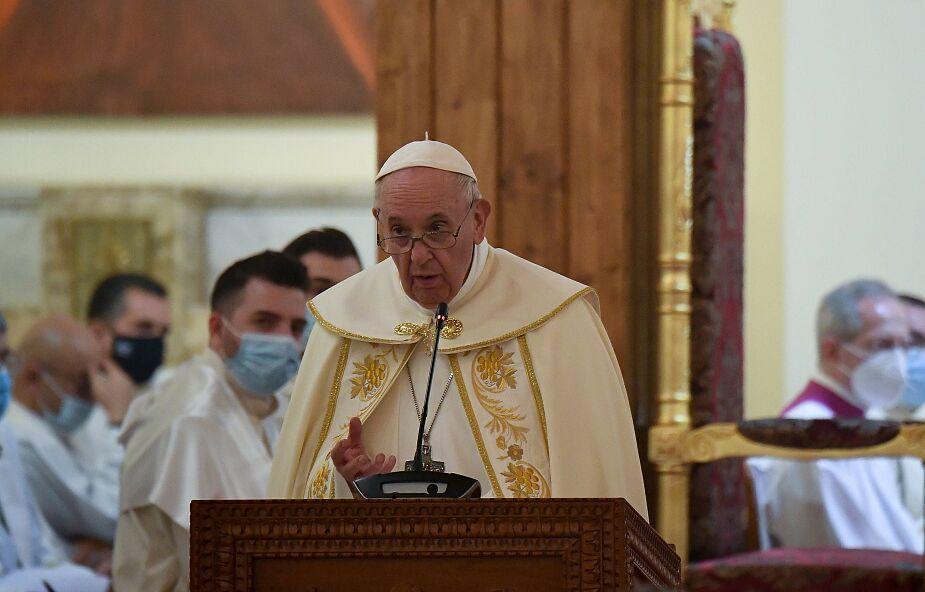 Franciszek jako pierwszy papież odprawił mszę w obrządku chaldejskim