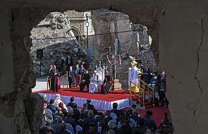 Franciszek w Mosulu: nadzieja jest silniejsza od śmierci, a pokój od wojny