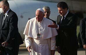 Papież Franciszek przybył do Autonomicznego Regionu Kurdystanu