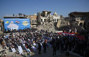 W zniszczonym przez dżihadystów Mosulu papież modlił się za ofiary wojny