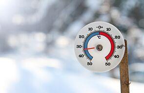 Synoptyk IMGW: w nocy temperatura może spaść do -10 stopni Celsjusza
