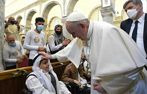 Abp Gallagher: papież chce uratować chrześcijaństwo na Bliskim Wschodzie