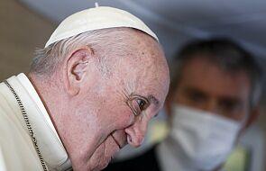 Franciszek: nigdy wcześniej się tak nie zmęczyłem, czuję swoje 84 lata