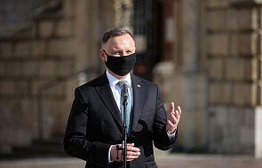Prezydent Andrzej Duda oddał hołd ofiarom katastrofy smoleńskiej